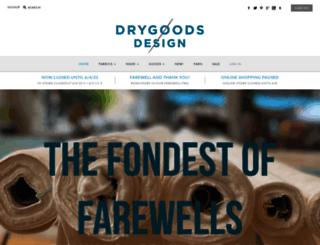 drygoodsdesignonline.com screenshot