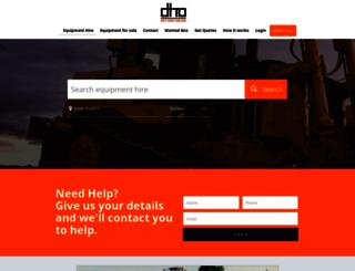 dryhireonline.com.au screenshot