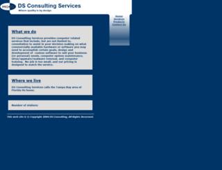 dsconsultingsvcs.com screenshot