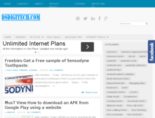 dsdigitech.com screenshot
