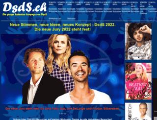 dsds.ch screenshot