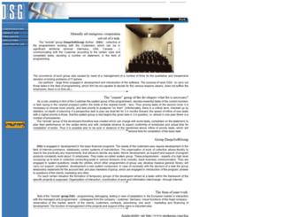 dsg.uacommerce.com screenshot