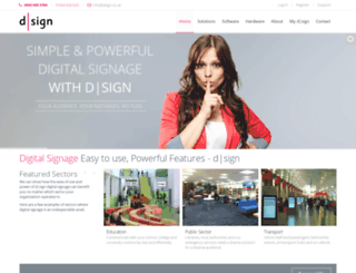 dsign.co.uk screenshot