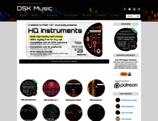 dskmusic.com screenshot