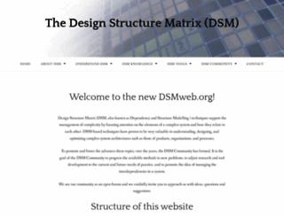 dsmweb.org screenshot