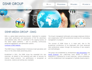 dsnrgroup.com screenshot