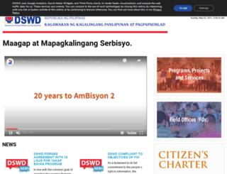 dswd.gov.ph screenshot