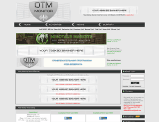 dtm-monitor.com screenshot