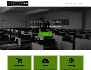 dts-net.com screenshot