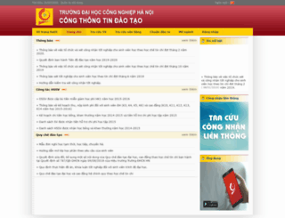 dttc.haui.edu.vn screenshot