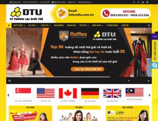dtu.com.vn screenshot