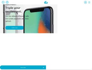 du.com screenshot
