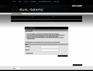 dual-boxing.com screenshot
