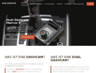 dual-dashcam.de screenshot