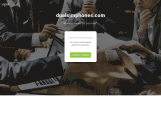 dualsimphones.com screenshot