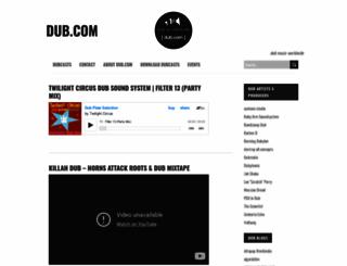 dub.com screenshot