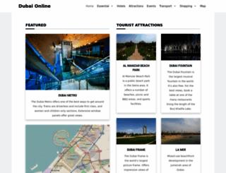 dubai-online.com screenshot