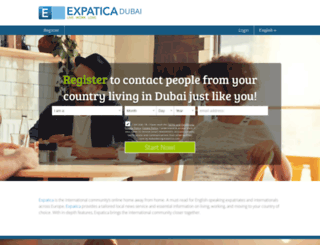 dubaidating.expatica.com screenshot