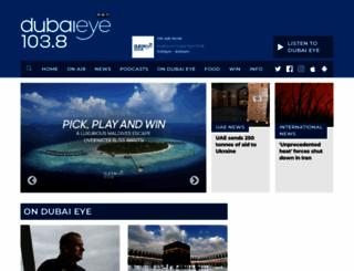 dubaieye1038.com screenshot