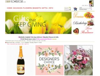 dubaiflowerstore.com screenshot