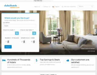 dubaihotelsoption.com screenshot