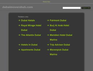 dubaimovershub.com screenshot