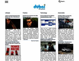 dubaiprnetwork.com screenshot