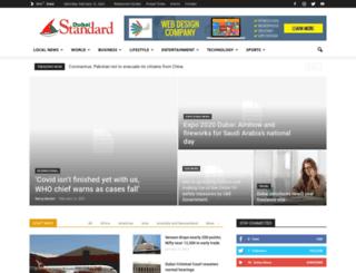 dubaistandard.com screenshot