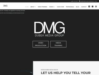 dubekmediagroup.com screenshot