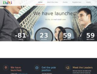 dubli-india-prelaunch.com screenshot