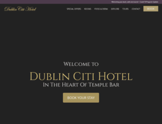 dublincitihotel.com screenshot