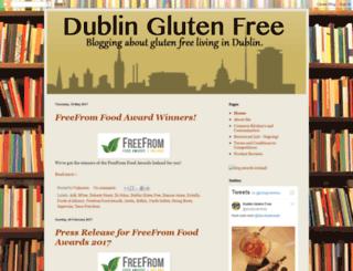 dublinglutenfree.blogspot.ie screenshot