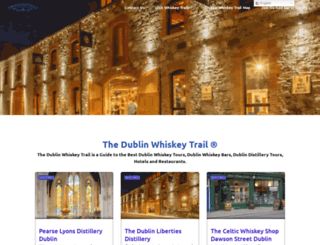 dublinwhiskeytrail.ie screenshot