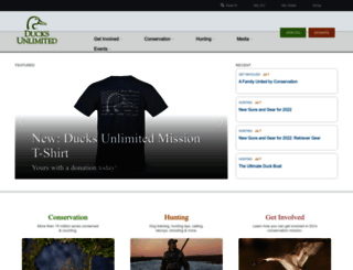 ducks.org screenshot