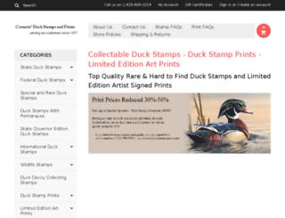 duckstamps-prints.com screenshot