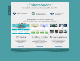 ducotedechezluiclick.fr screenshot