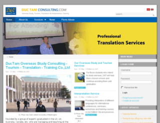 ductamconsulting.com screenshot