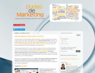 dudasdemarketing.blogspot.com screenshot