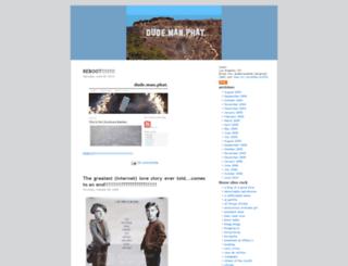 dudemanphat.blogspot.com screenshot