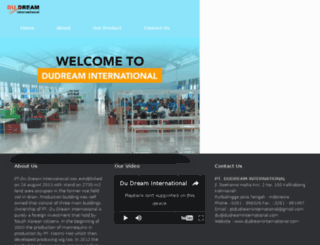 dudreaminternational.com screenshot