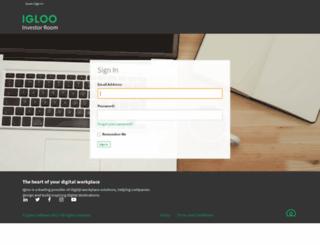 duediligence.igloocommunities.com screenshot