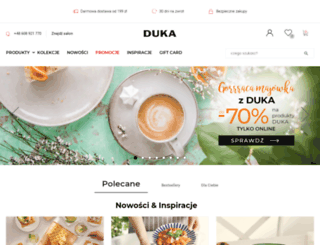dukapolska.com screenshot