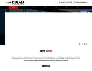 dulam.com screenshot
