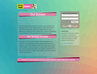 dulsohbet.net screenshot