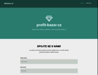 dum.profit-bazar.cz screenshot