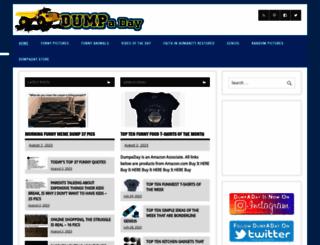 dumpaday.com screenshot