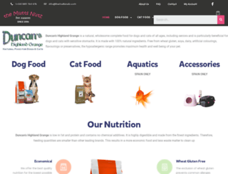 duncanshighlandgrange.com screenshot