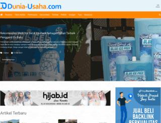 dunia-usaha.com screenshot