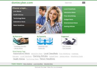 duniacyber.com screenshot