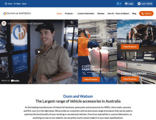 dunnandwatson.com.au screenshot